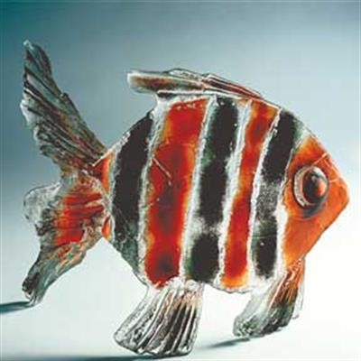 TIGER FISH GLASS ARTEFACTS