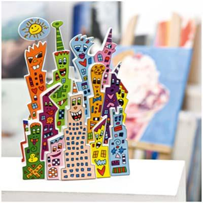 JAMES RIZZI PORCELAIN ARTEFACTS