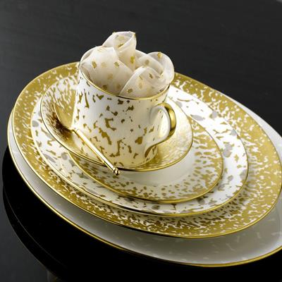 DAPPLE ACCENT DINNERWARE