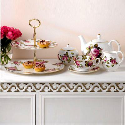 ROSE CHARLOTTE DINNERWARE