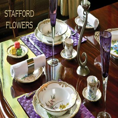 STAFFORD FLOWERS DINNERWARE