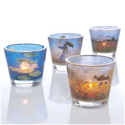 CLAUDE MONET GLASS ARTEFACTS