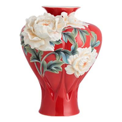 FLORAL COLLECTION PORCELAIN VASE