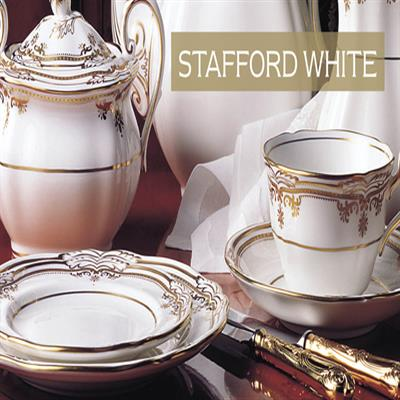 STAFFORD WHITE DINNERWARE